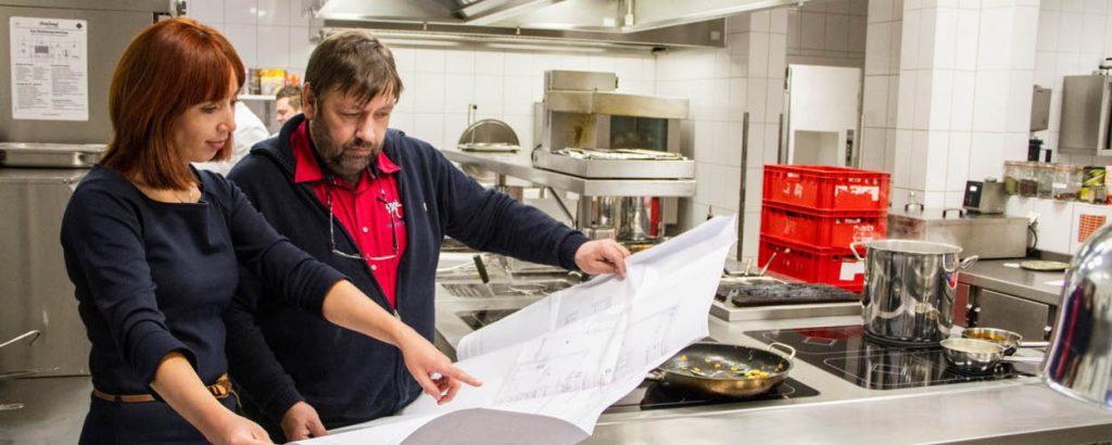 Beratung: Leistungen der Neltner Großküchen