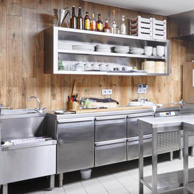 Kleinküche - Objekteinrichtung der Neltner Großküchen GmbH