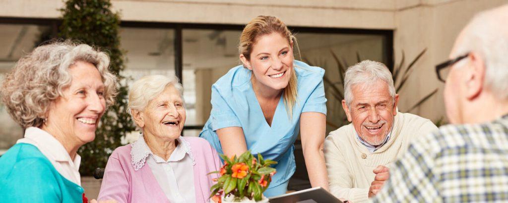 Kundenprojekte im Bereich Pflege und Senioren
